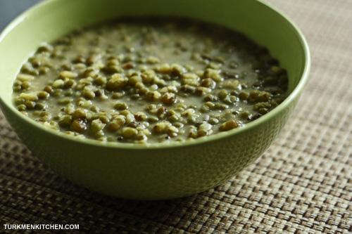 green mungbean soup