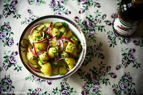 Potato Salad with Fresh Herbs